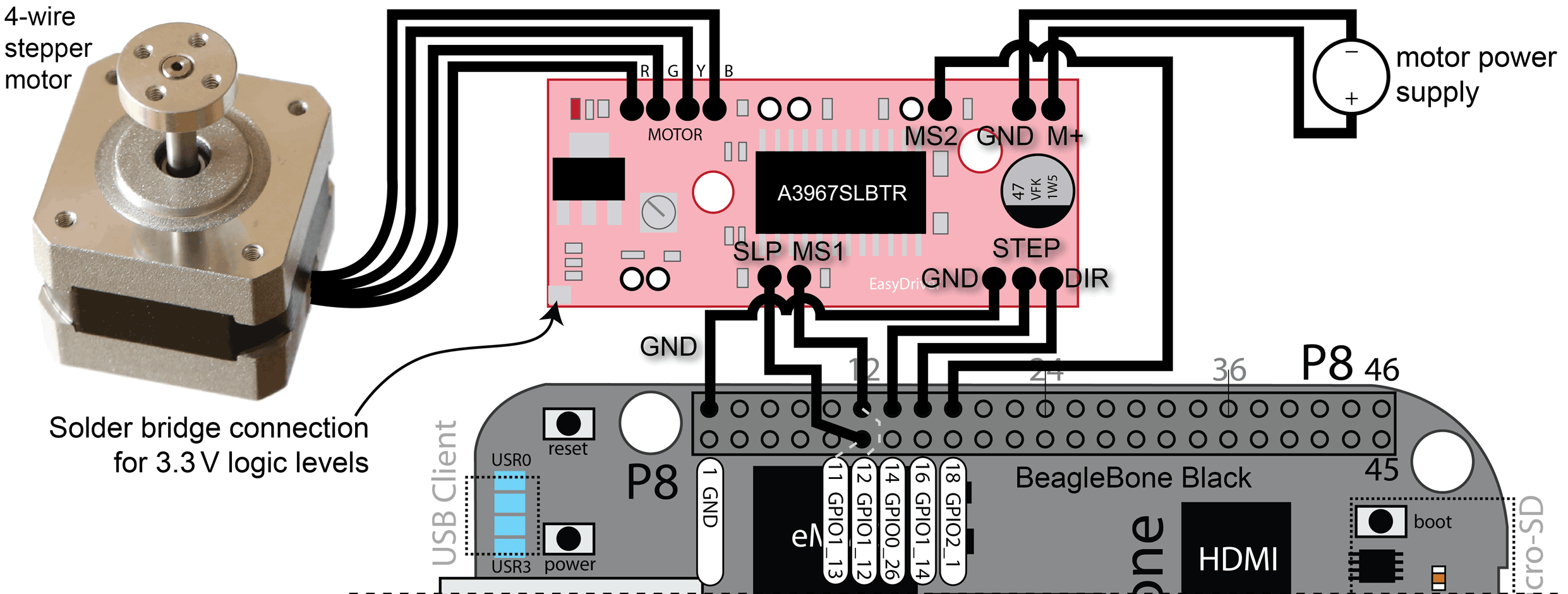 Chapter 9 Interacting With The Physical Environment Exploring Besides Simple Stepper Motor Controller Further Wireless Of More Complex Figures In This Which May Help You Wiring Circuits Please Note That Can Close Pop Up Window By Pressing