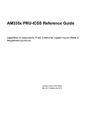 AM335x PRU-ICSS Reference Guide